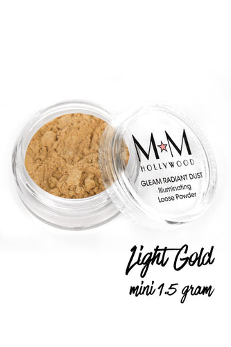Gleam Radiant Dust Powder Light Gold