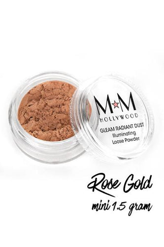 Gleam Radiant Dust Powder Rose Gold