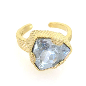 Trilliant Cut Swarovski Crystal Ring