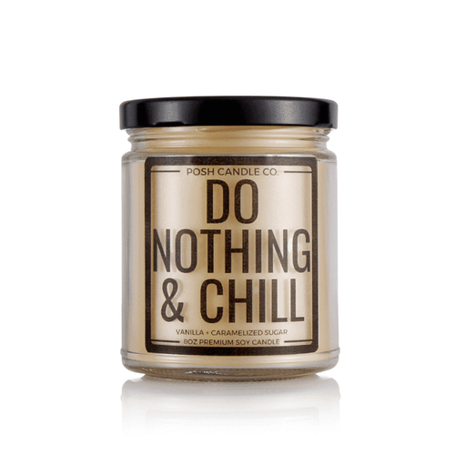 Do Nothing & Chill Candle
