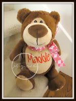 Brown Teddy Bear STUFFED ANIMAL