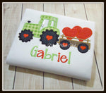 Valentines Tractor Shirt