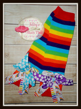 Rainbow Unicorn Legwarmers