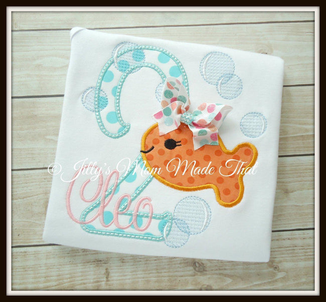 Goldfish with Bubbles Shirt