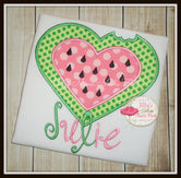 Watermelon Heart Shirt