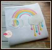 Monogram Rainbow Shirt