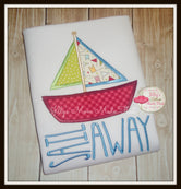 Sail Away Boat Shirt