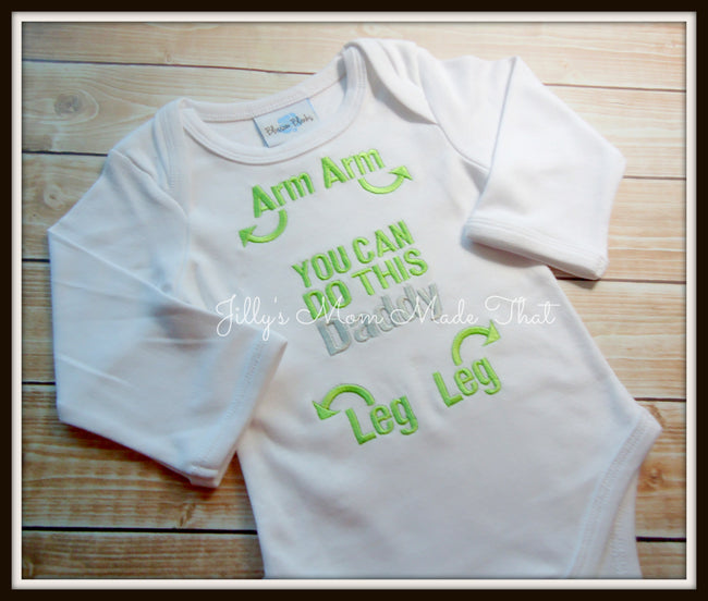 You can do this DADDY Shirt - Green/Silver