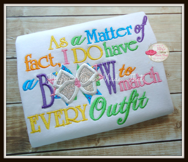 As a Matter of Fact Shirt