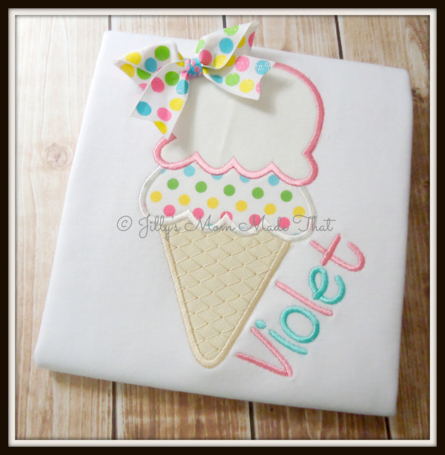Something Sweet Ice Cream Cone Shirt