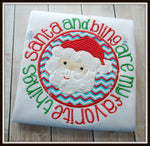 Santa and Bling are my Favorite Things Shirt