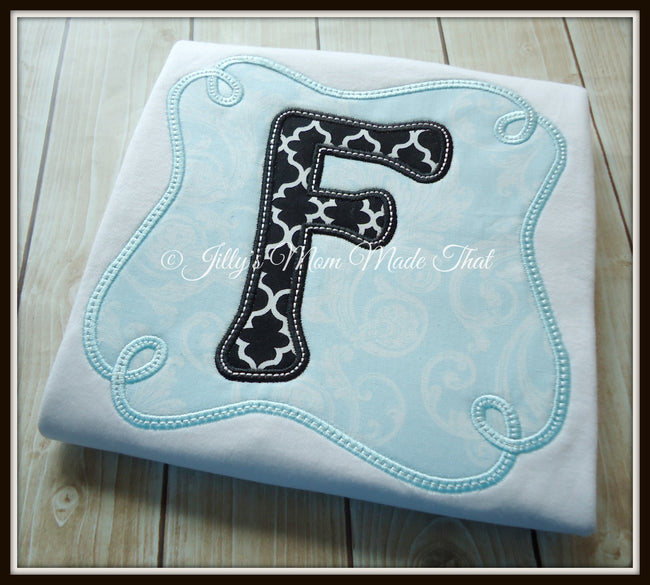 Loop Tiff Blue Frame Initial Shirt
