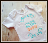 You can do this DADDY Shirt - Aqua/Coral
