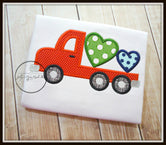 Flat Bed Truck with Hearts Shirt