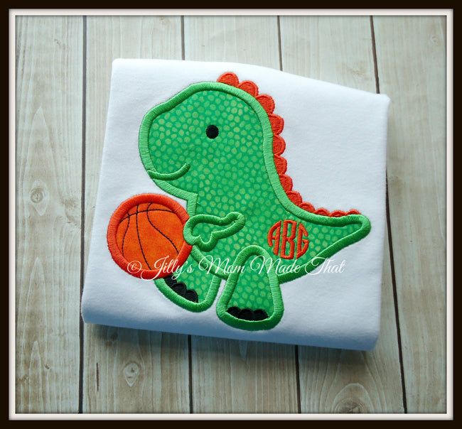 Basketball Dinosaur Shirt
