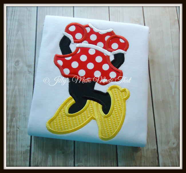 Fashionista Mouse Body Shirt