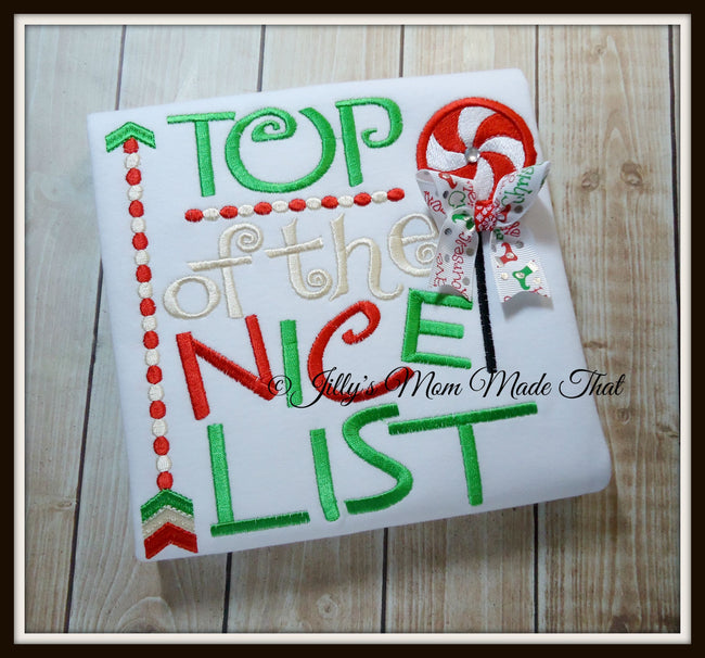 Top of the Nice List Shirt