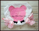 Pig Bottom Bloomers - Pink/Pink