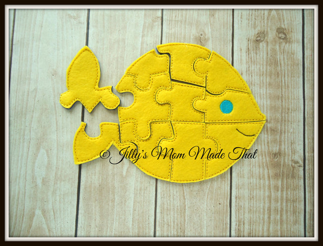 Yellow Goldfish Puzzle