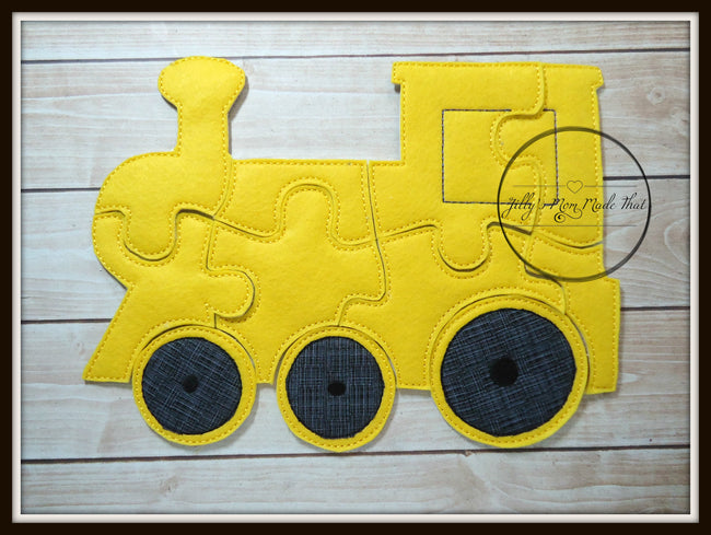 Yellow Train Puzzle