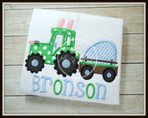 Easter Bunny Tractor Shirt
