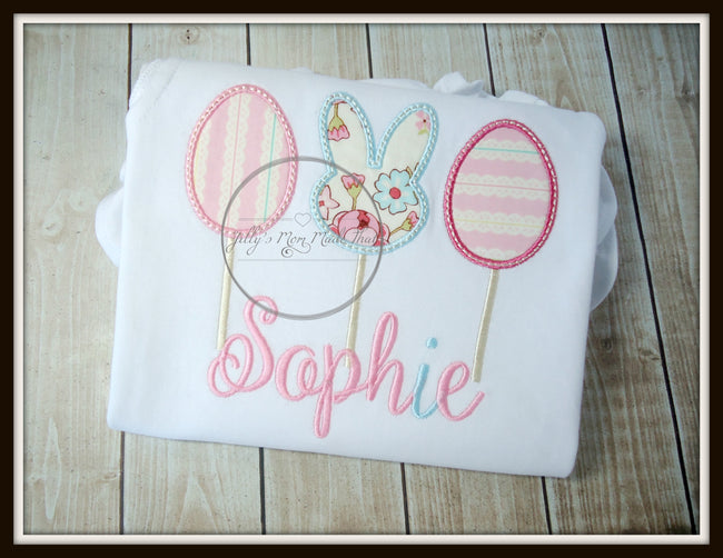 Bunny Lollipop Bubble Romper