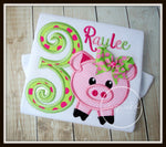 Pig Birthday Shirt