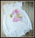 Pooh Bear Girls Shirt