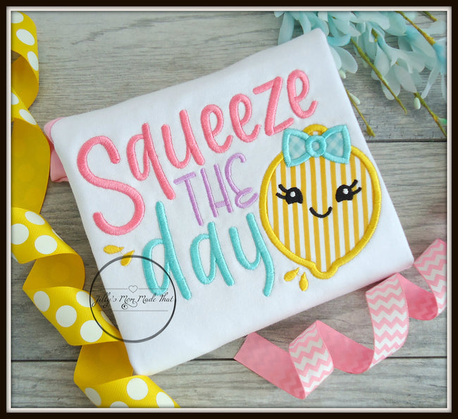 Squeeze The Day Lemon Shirt