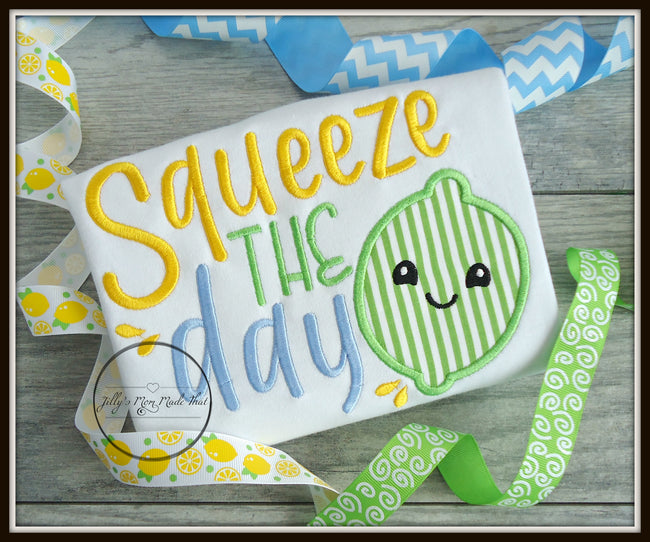 Squeeze The Day Lime Shirt