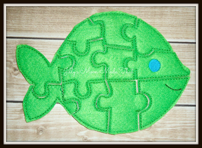Green Goldfish Puzzle