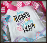 Give Thanks with a Grateful Heart Shirt