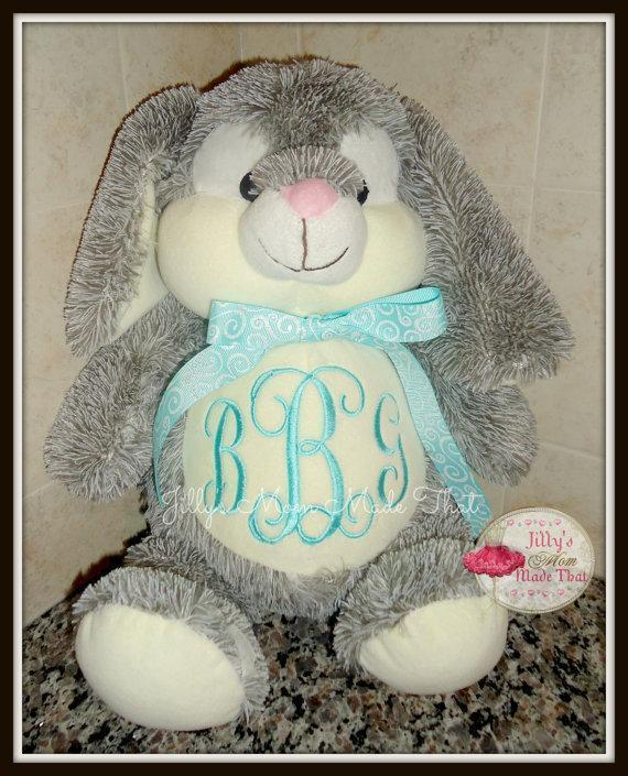 Bunny Stuffed Animal - Teal