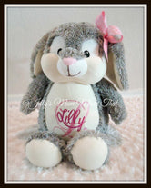 Bunny Stuffed Animal - Pink