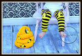 Bumble Bee Legwarmers