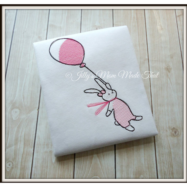 Bunny Balloon Shirt - Fly Away Balloon