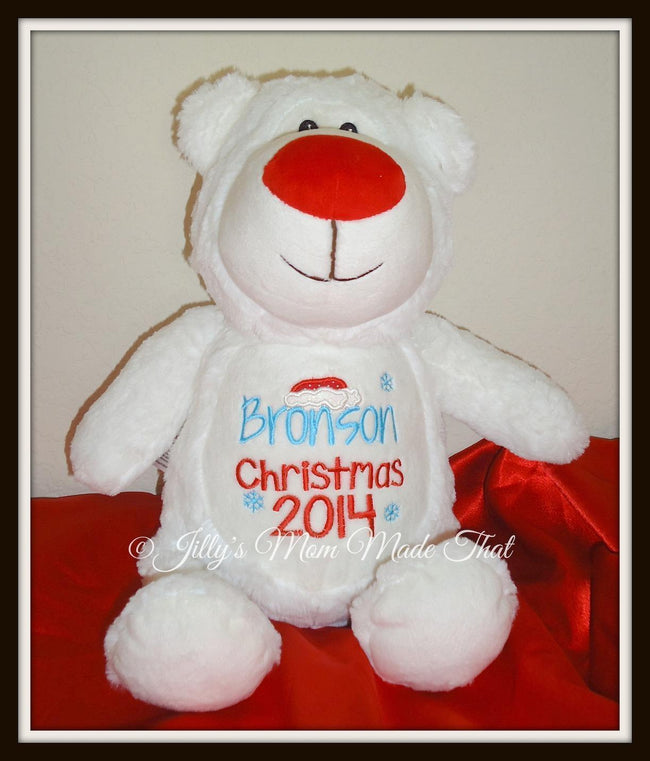 Polar Bear Stuffed Animal