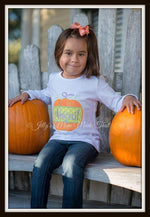 Pumpkin Split Shirt