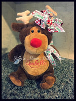 Brown Reindeer Stuffed Animal