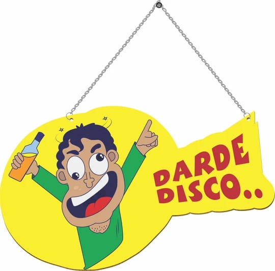 Darde Disco Door Hanging