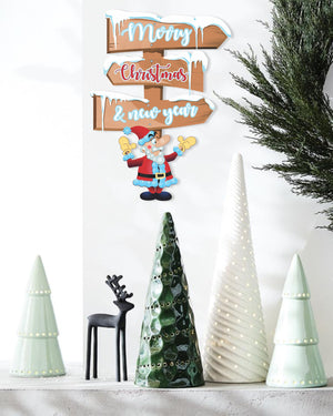 Christmas Sign Board Wall Door Decoration