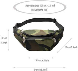 Travel Waist Bag For Men- Travel Waist Bag- khirki.in