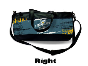 Printed Men's Duffel Bag