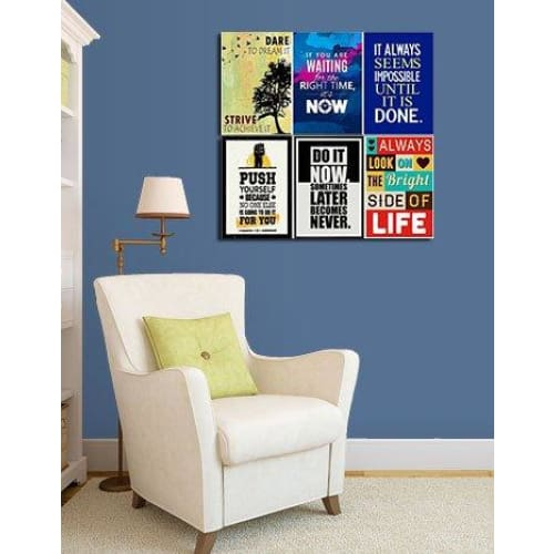 Inspirational Posters (Set of 6) - wall posters