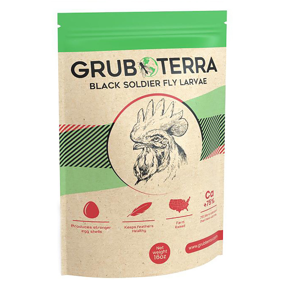 Dried Black Soldier Fly Larvae for Chickens And Reptiles