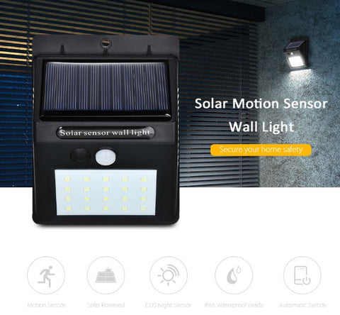 Solar rechargeable security camera