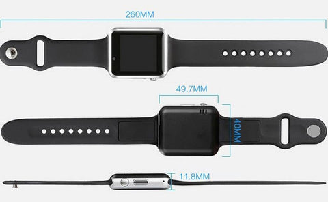 Bluetooth watch with sim