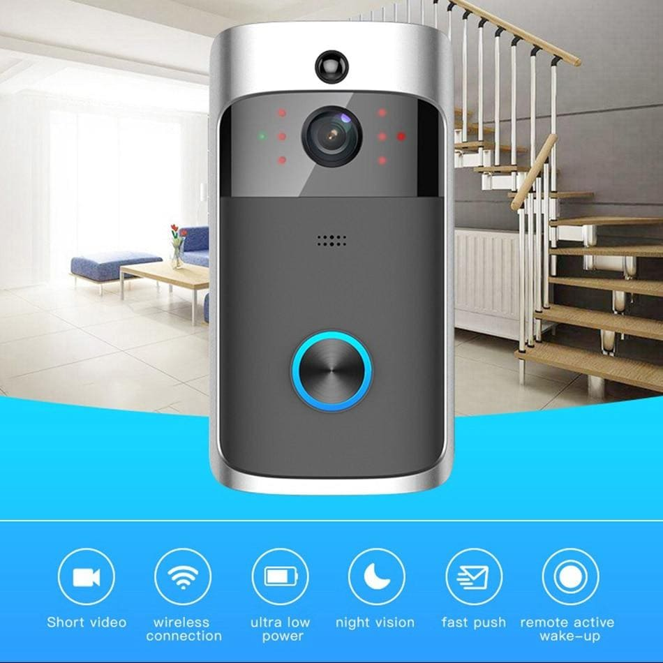 Video Door Bell With Wireless Camera | Twine Gadget