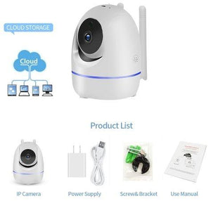 Wireless Wifi Camera for baby monitoring | TwineGadget