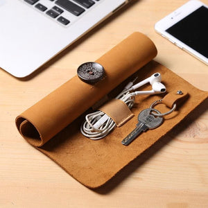 Leather Storage bag | Twinegadget